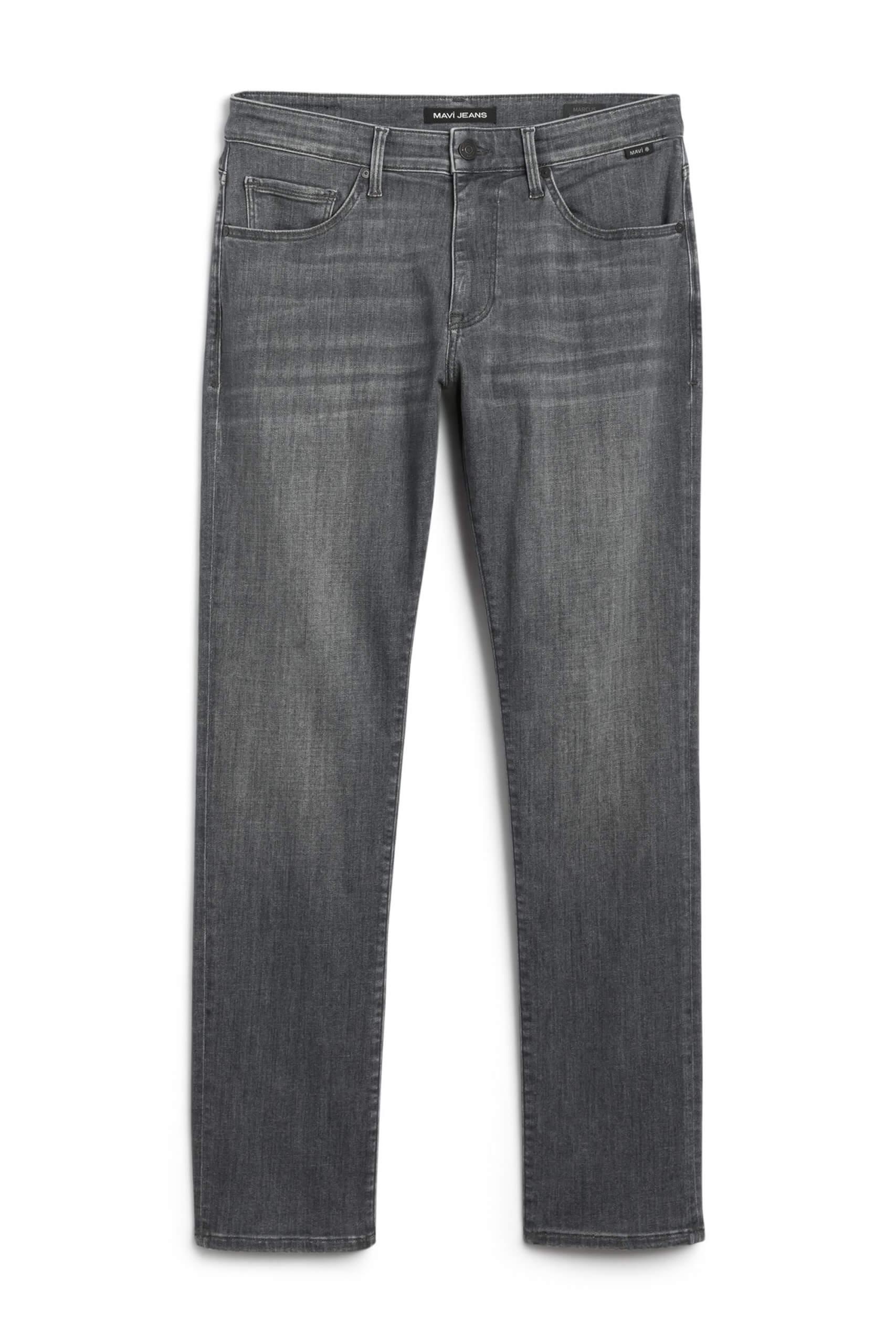 Stitch Fix Men's grey straight leg jeans.