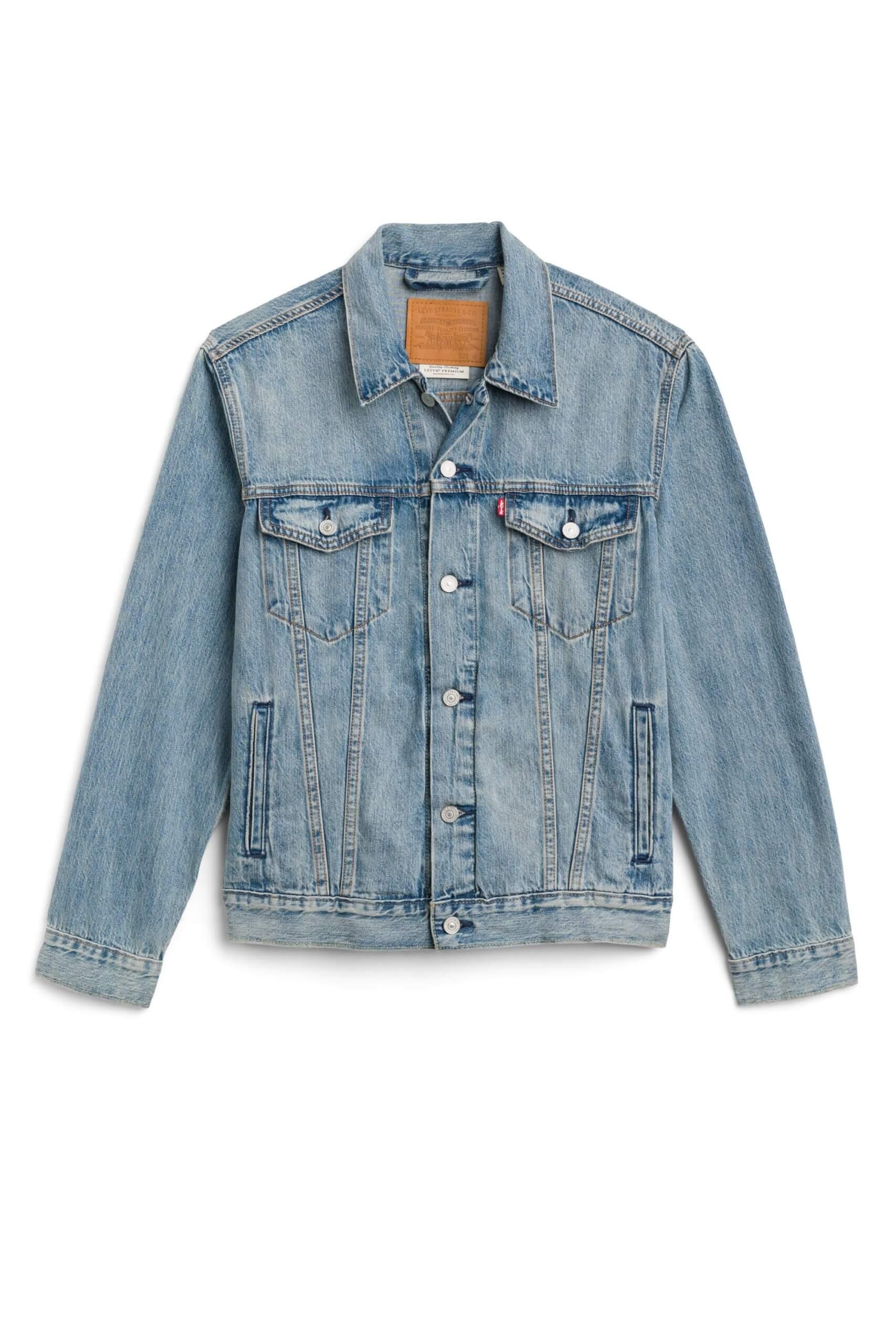 Stitch Fix Men's blue denim jacket.