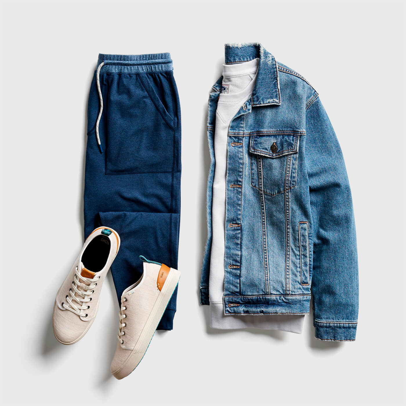 What do I wear with a jean jacket? | Stitch Fix Men