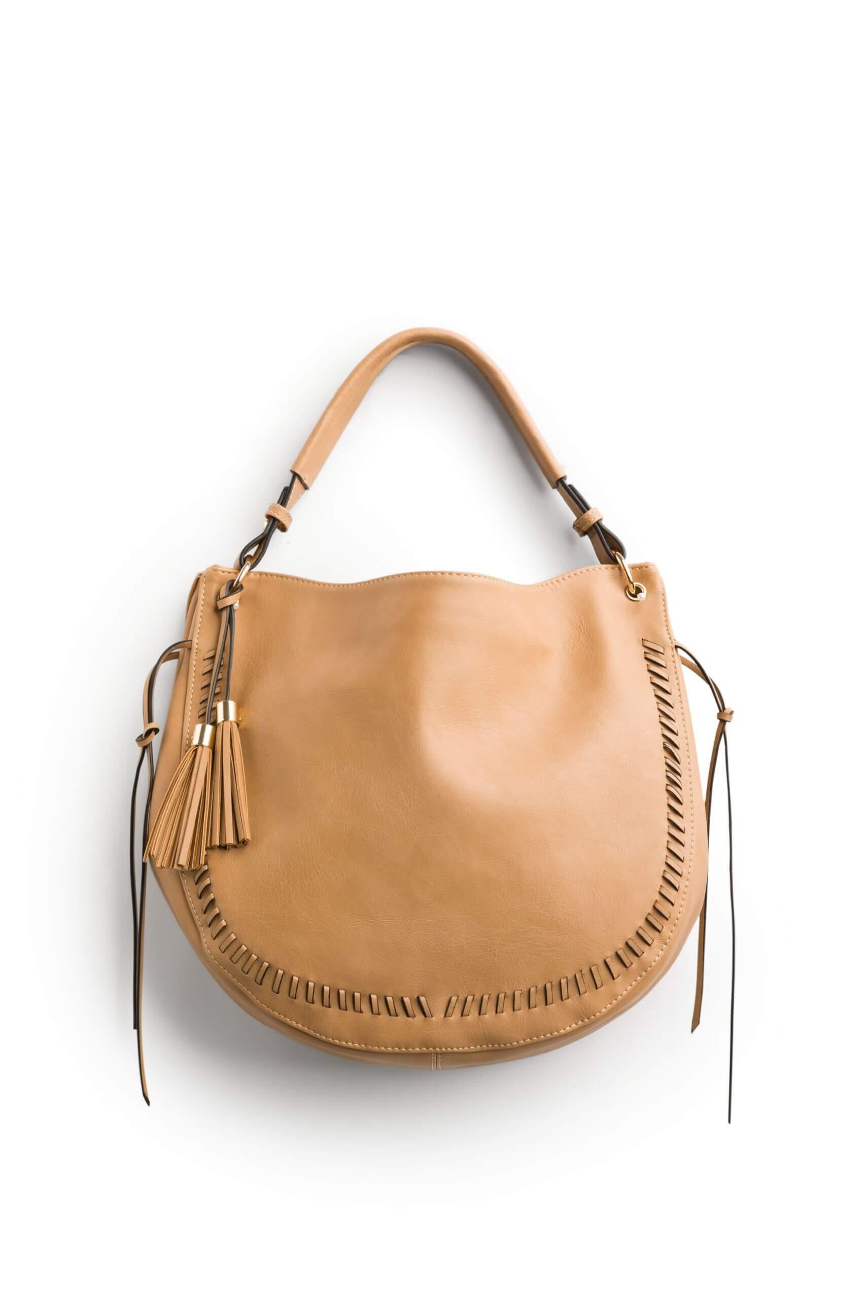 Stitch Fix women's brown hobo bag.