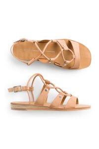 Stitch Fix Women's tan strappy sandals.