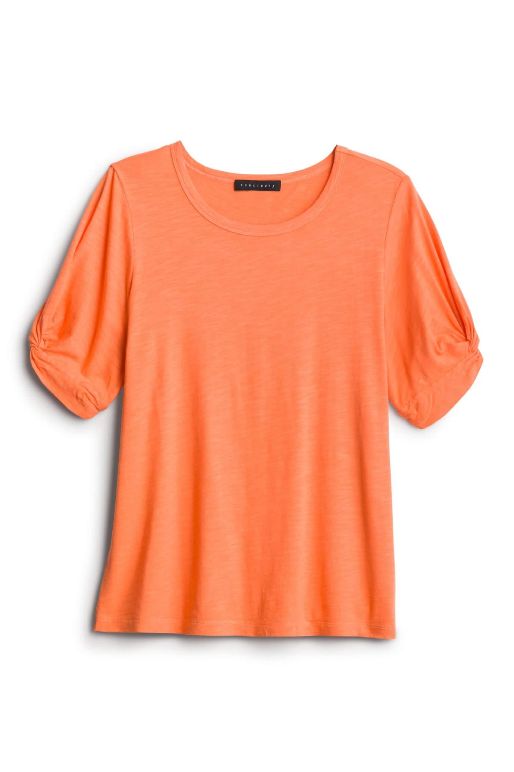 Stitch Fix Women's orange tee.