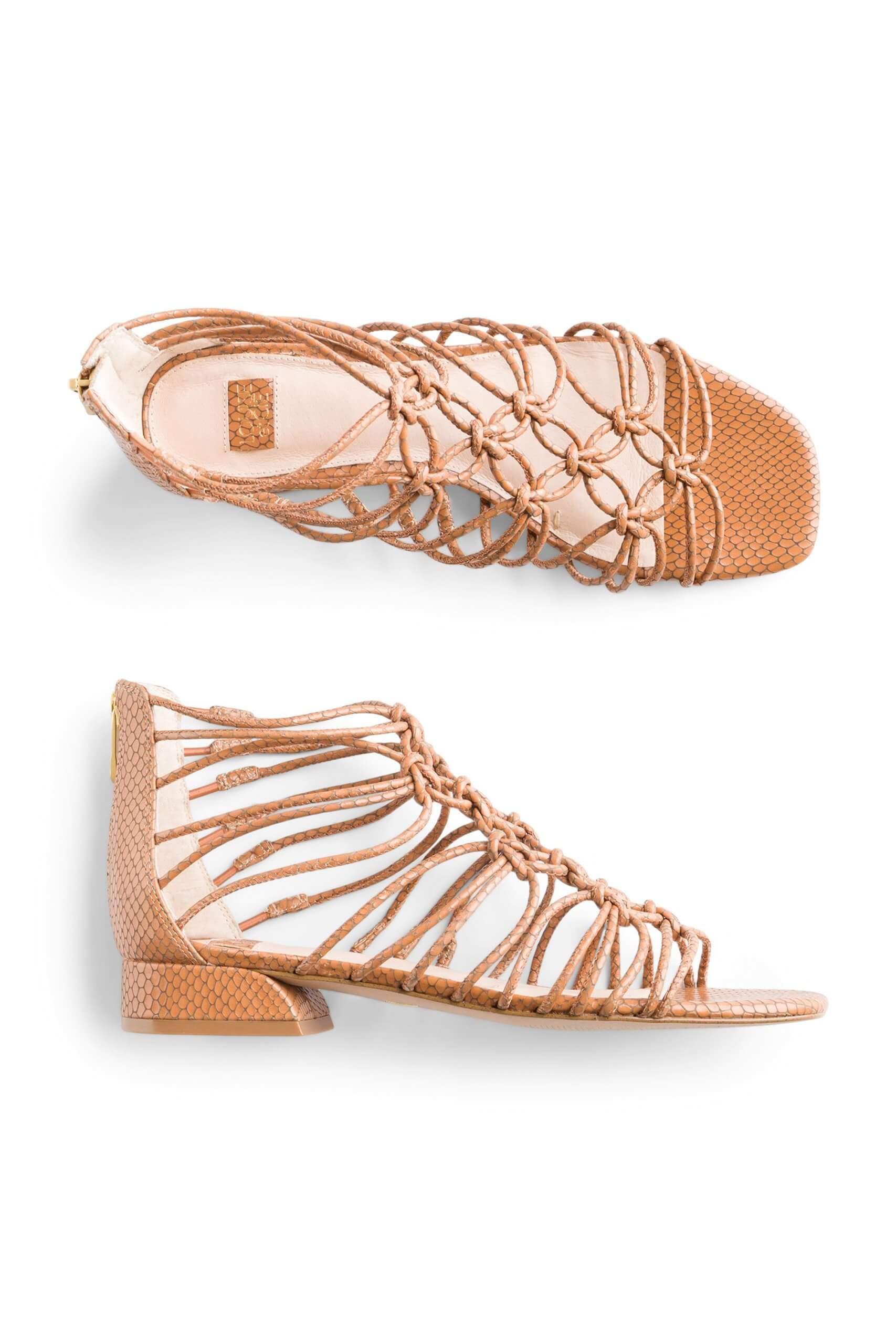 Stitch Fix Women's light brown gladiator sandals.