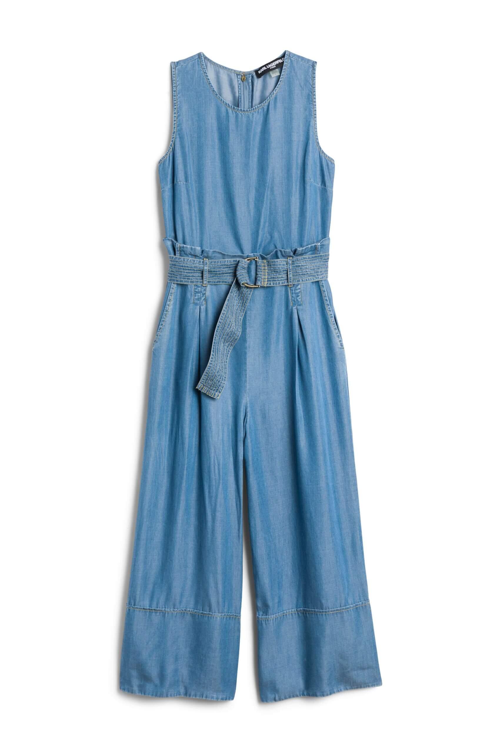 Stitch Fix Women's denim jumpsuit.