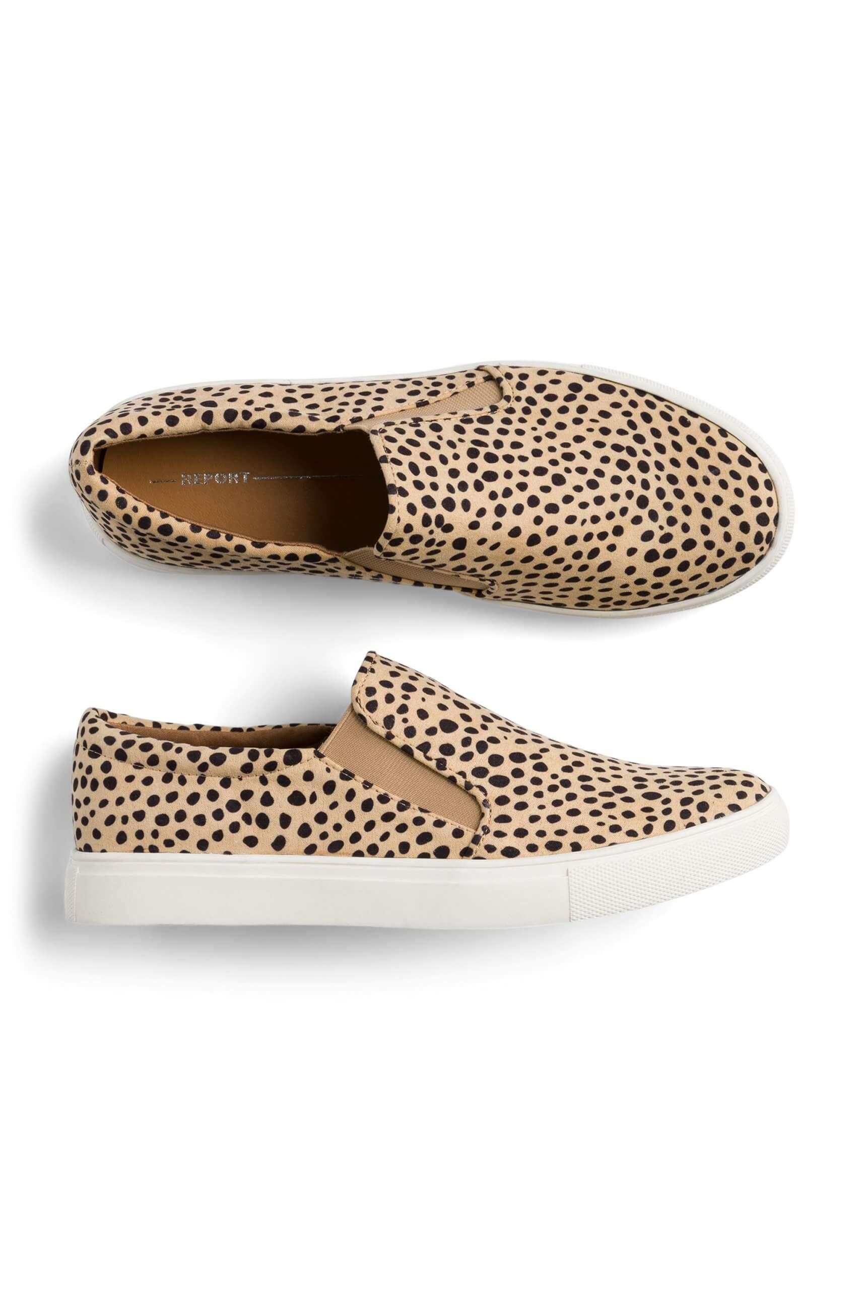 Stitch Fix Women's brown leopard print sneakers.