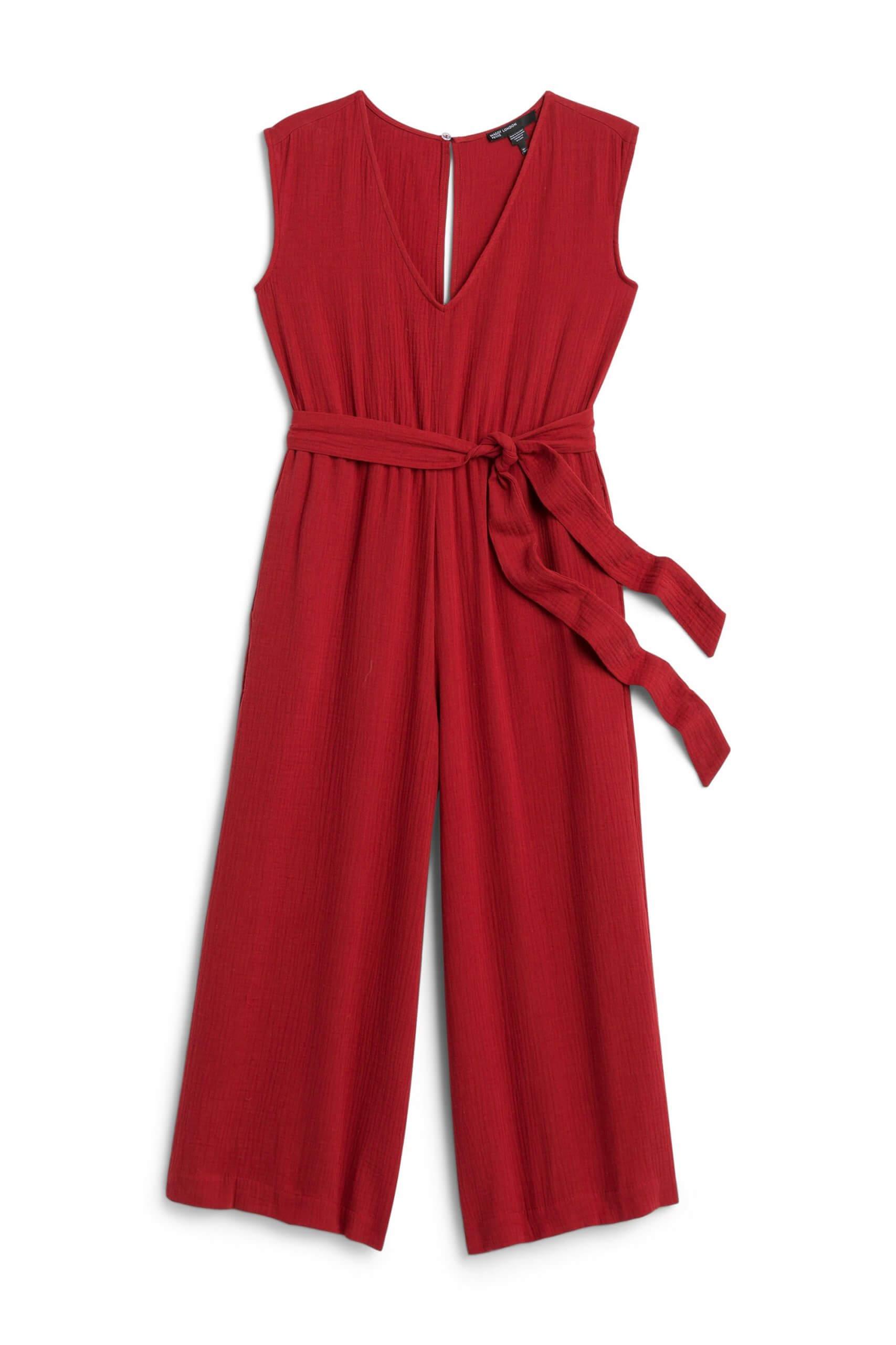 Stitch Fix Women's red jumpsuit.