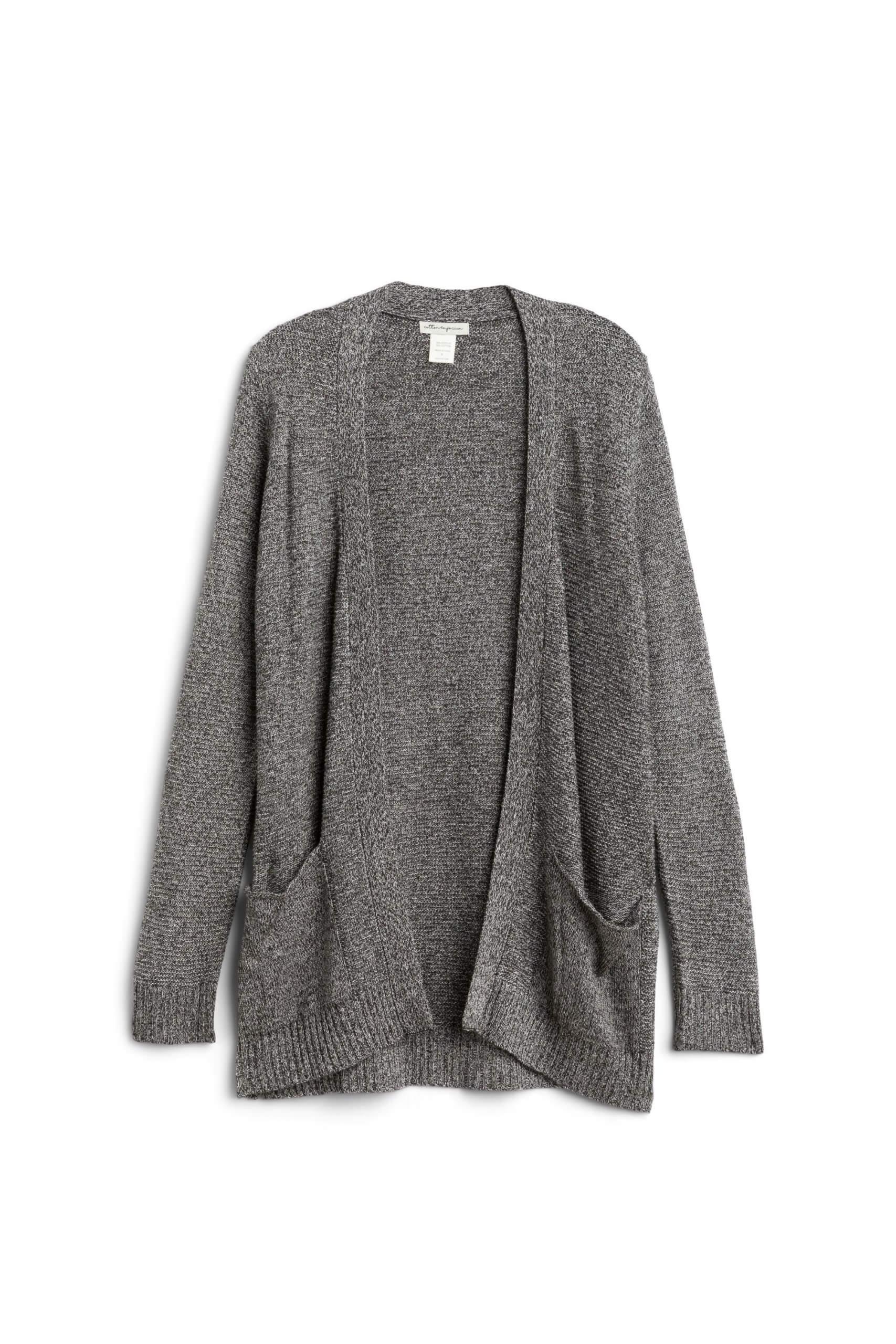 Stitch Fix Women's grey cardigan.