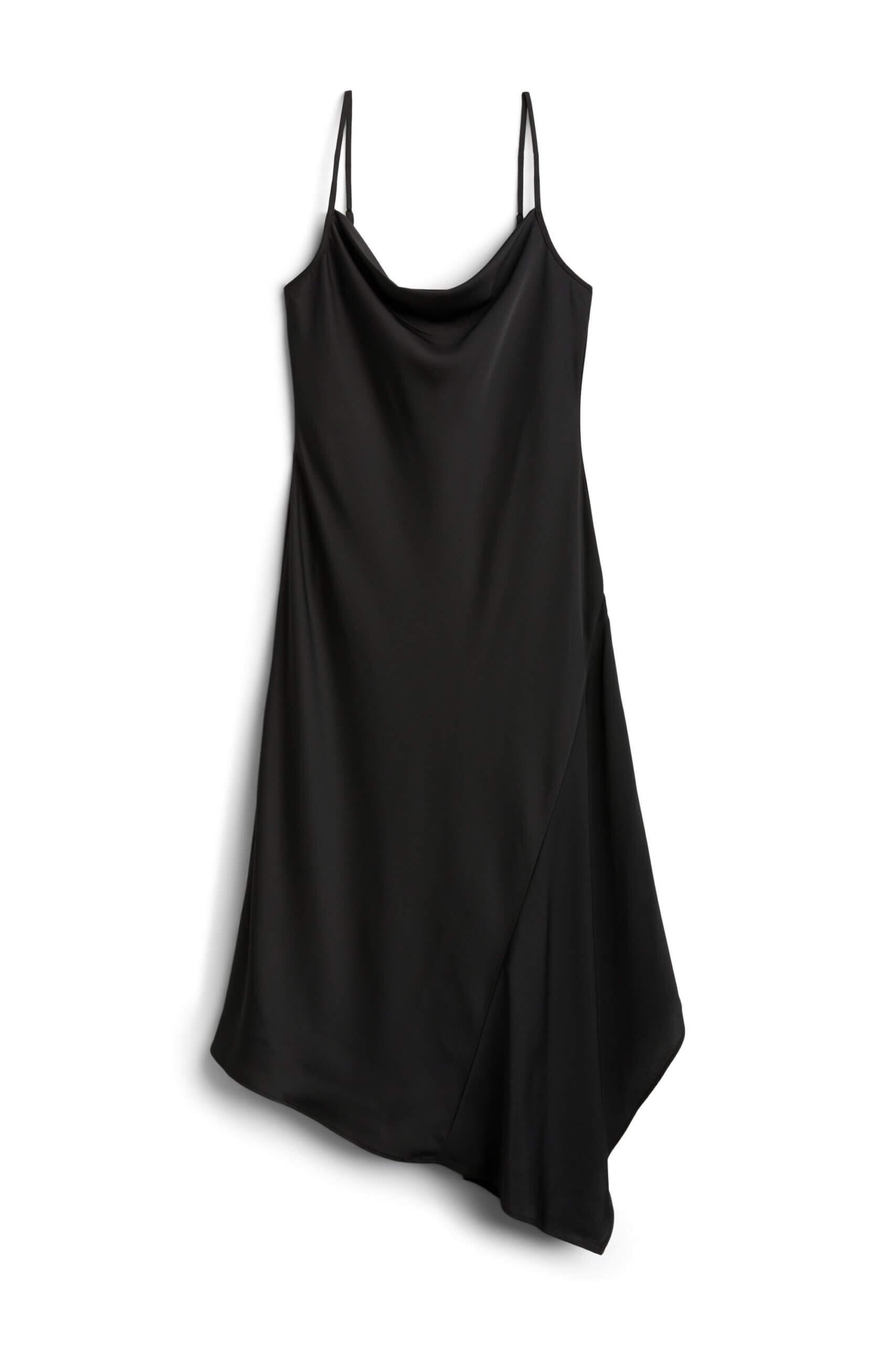Stitch Fix Women's black sleeveless dress.